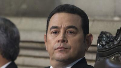 Jimmy Morales, presidente de Guatemala, salpicado por casos cercanos de...