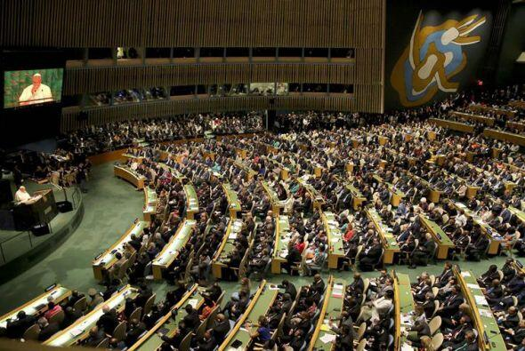 La intervención del pontífice en el preludio de la Cumbre Mundial sobre...