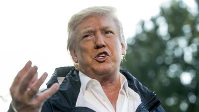 """Para Trump, las malas noticias sobre su gestión son """"falsas noticia..."""