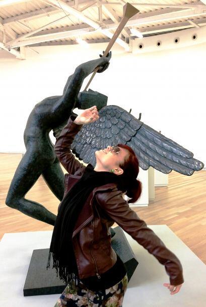 Cantando con mi angelito de la guarda para que me ayude a ganar… ¡Lo sie...