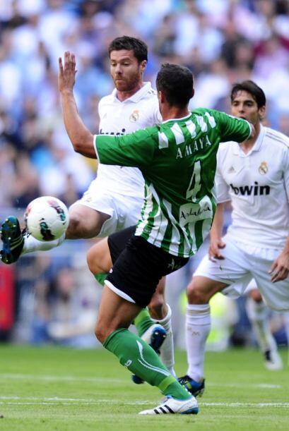 Real Madrid recibió la visita del Betis buscando un triunfo que l...