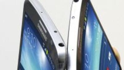 """El """"Galaxy Round"""" de Samsung."""