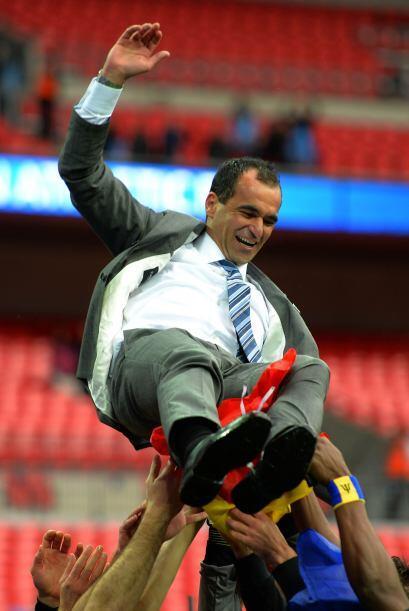 El español Roberto Martínez llegó al Wigan como jugador cuando el equipo...