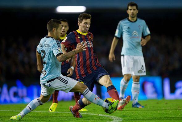 Messi sirvió una gran asistencia para el tercer tanto.