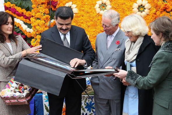 Esta fue la primera visita de sus Altezas Reales en un recorrido que inc...