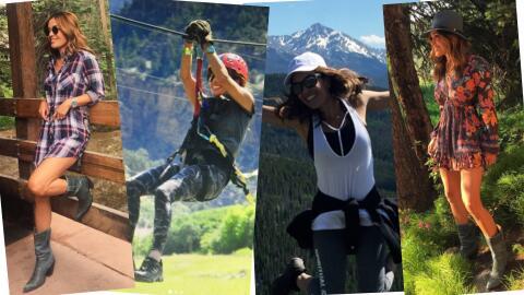 Karla Martínez vacaciones de verano