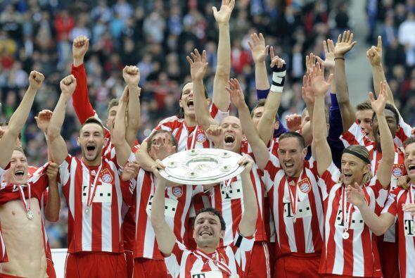 Alemania no conoció a otro campeón que no fuera el Bayern Munich, que ar...
