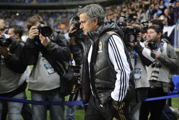 José Mourinho y su Real Madrid se metieron a La Rosaleda para enc...