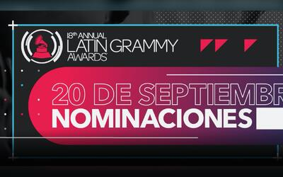 El anuncio de las nominaciones de Latin GRAMMY ha sido suspendido.