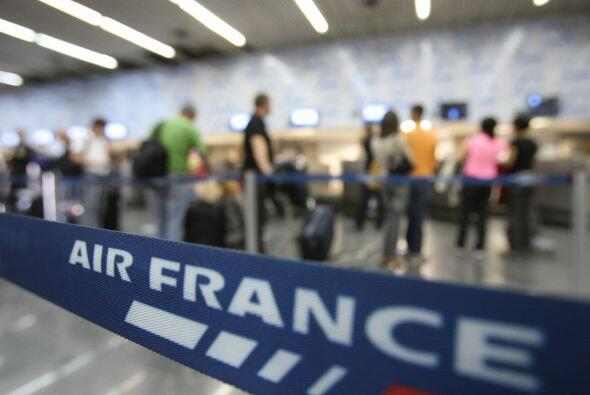 5- Air France ha tenido accidentes que le han costado la vida a 1,788 pa...