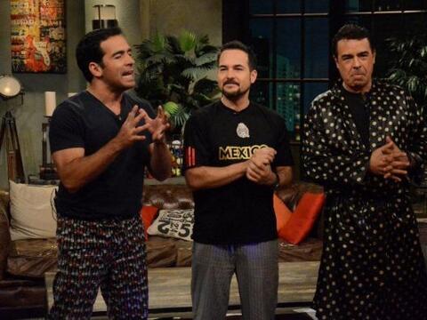 Noche de Perros tuvo un programa muy especial pues hicieron una pijama p...