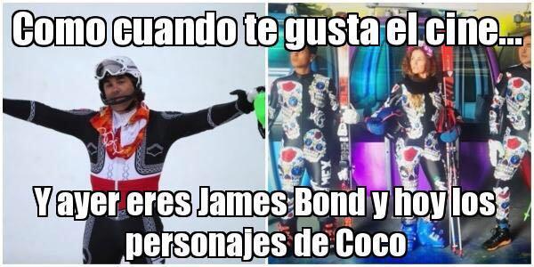 México presenta estrambótico uniforme para los Juegos de Invierno whatsa...