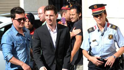 El astro argentino no pudo eludir el juicio por un supuesto fraude fiscal
