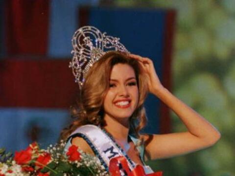Alicia Machado es el claro ejemplo de querer es poder. No olvidamos que...