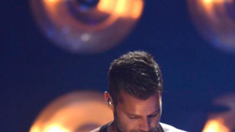 Ricky Martin ensayó un día antes del gran show en Premios Juventud 2013.
