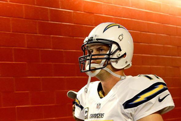 #8 Philip Rivers, San Diego Chargers.