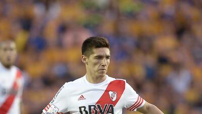 Matías Kranevitter cerrará el año jugando aún para River Plate.