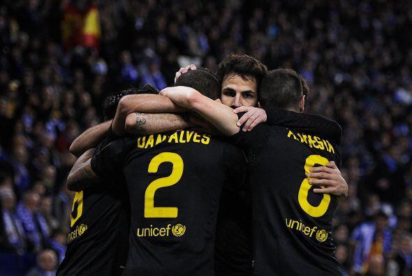 El Barcelona parecía encaminado a una sencilla victoria má...