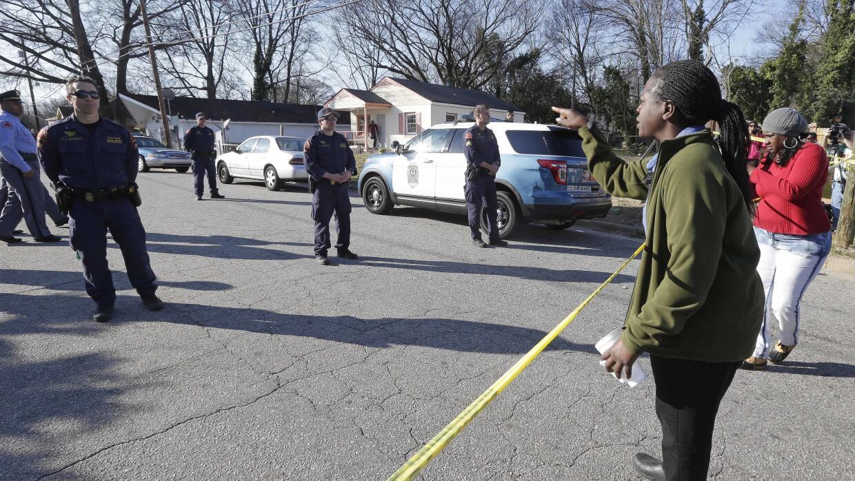 Protestas por muerte de afroamericano en Raleigh