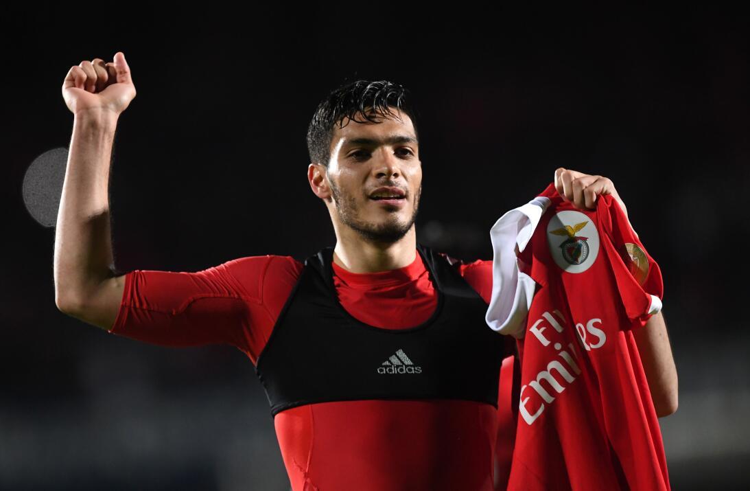 Raúl Jiménez: con dos goles del delantero del Tri, Benfica consiguió tre...