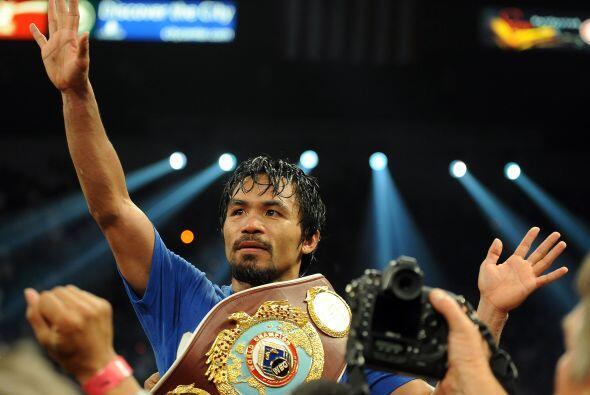 25. MANNY PACQUIAO- Considerado el uno de los mejores boxeadores en la a...