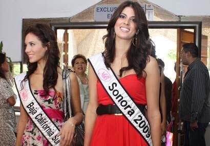 Baja California Sur, Giovanna Martínez de 18 años y Sonora, Gabriela Bor...