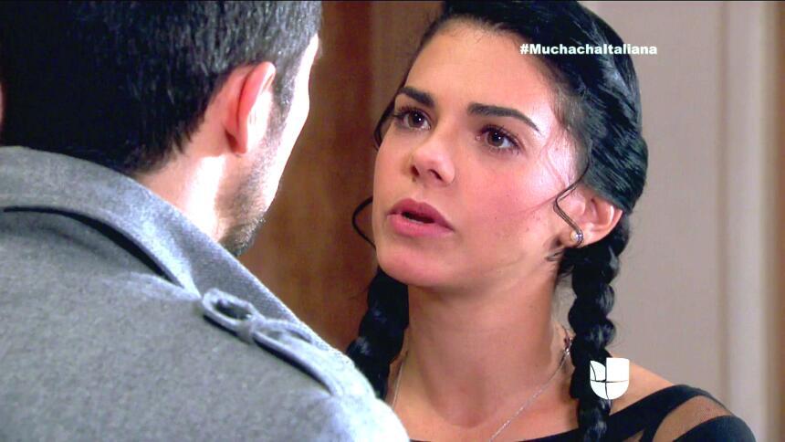 En Muchacha Italiana, ahora que Pedro sabe que Fiorella tiene problemas...