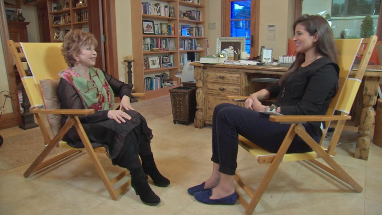 Isabel Allende, Leonor Suárez