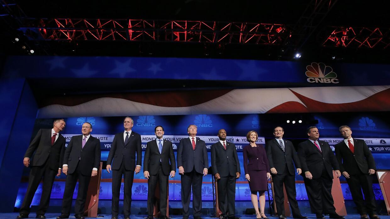 Último debate republicano