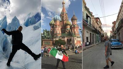 México, Rusia y hasta la Tierra del Fuego: los viajes de El Pelón en 2018