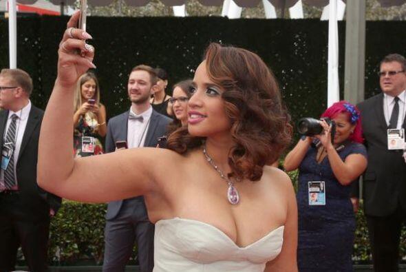 Dasha Polanco,  actriz dominicana, conocida por su personaje en 'Orange...