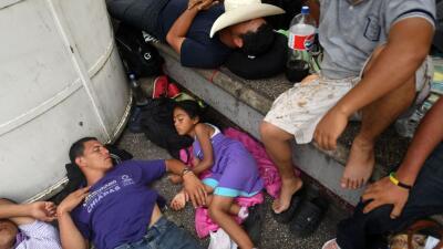 Diario de la nueva caravana: miles de migrantes continúan su avance hacia el norte de México, algunos ya están en Tapachula
