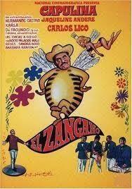 'El Zángano' es del año 1967. Aquí, Capulina llega a México y suda la go...