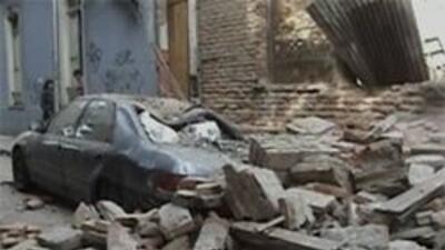Imagen del catastrófico evento.