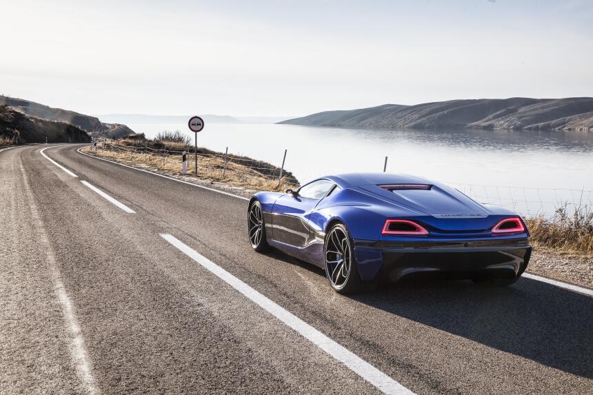 Imágenes del Rimac Concept_One, el auto eléctrico más rápido del 2016 d2...