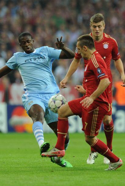 El Bayer Munich jugó ante el Manchester City y le propinó un duro golpe.