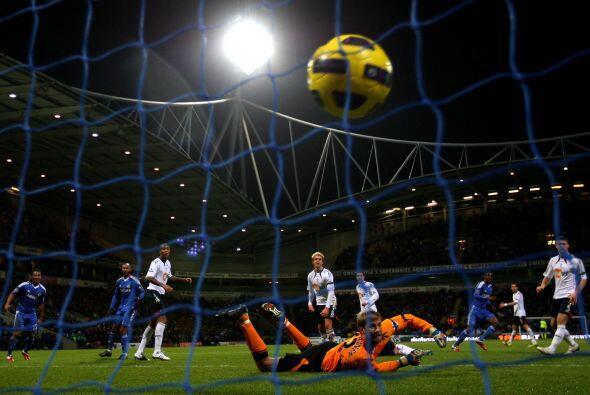 El 3-0 ya lucía como una categórica victoria de los 'Blues'.