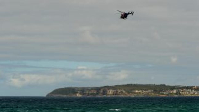 Un aviónpequeñoque se encontraba dando vueltas por el Golfo de México...
