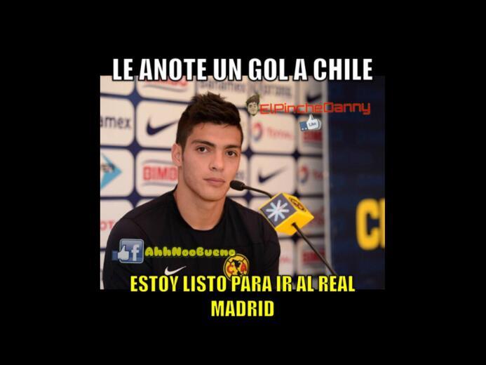 Los memes del empate entre Chile y México