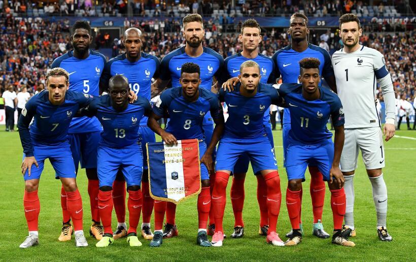 (UEFA / Grupo A) 1. Francia
