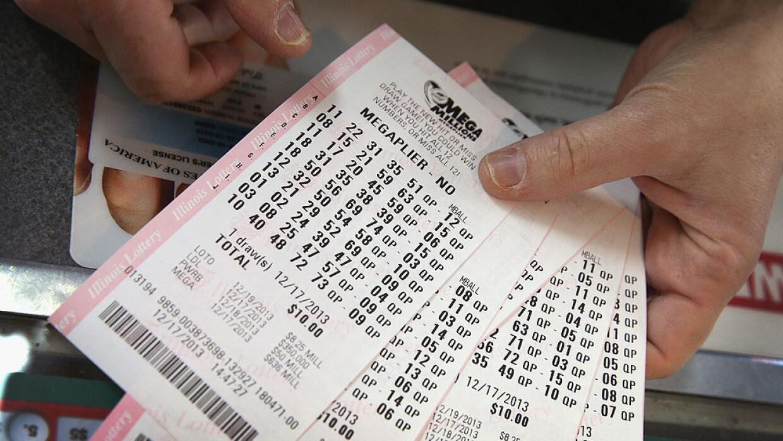 Boletos de lotería Mega Millions