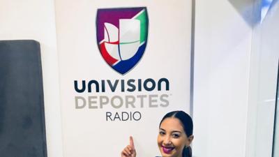 EN FOTOS: Ella es Mafer Alonso, la voz deportiva que escuchas en radio
