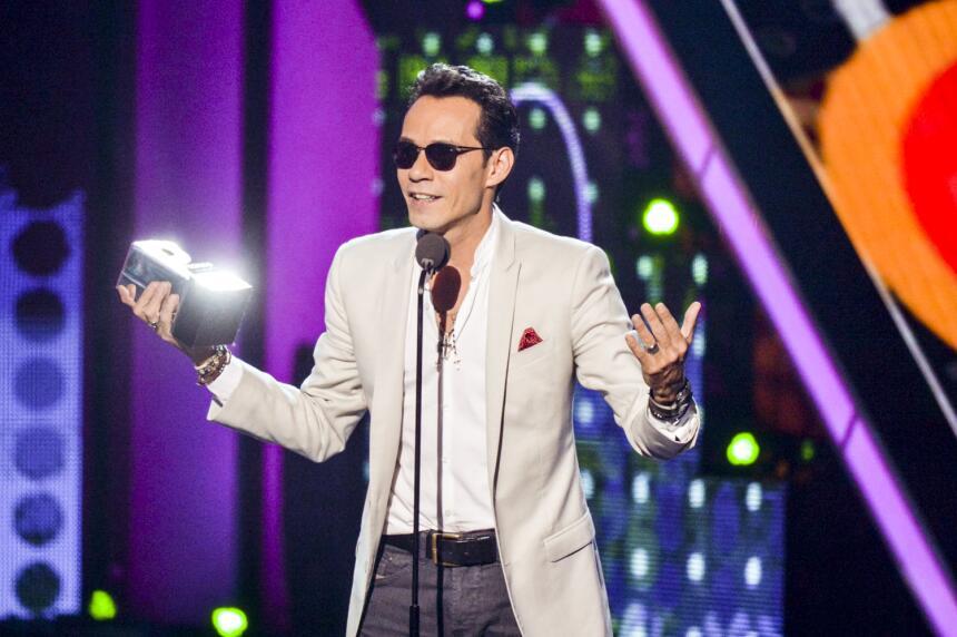 Mark Anthony entre ovaciones recibió el #PremioJuventud a 'Mi Art...