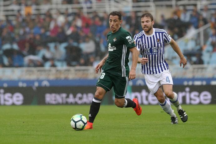 (La Liga) Real Sociedad 4-4 Betis: Andrés Guardado fue titular con el eq...