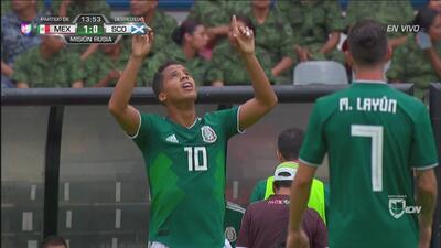 Los cracks mexicanos del Galaxy y LAFC, Gio dos Santos y Carlos Vela, guían a 'El Tri' al triunfo