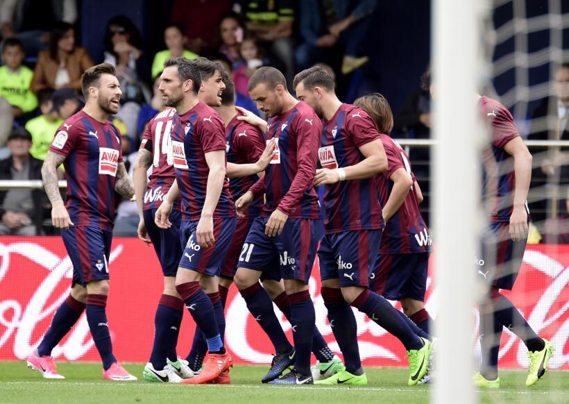 Eibar gana al Villarreal en duelo de aspirantes a Europa League GettyIma...