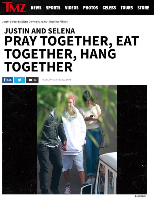TMZ los captó juntos tomando un café en Westlake Village, Los Angeles e...