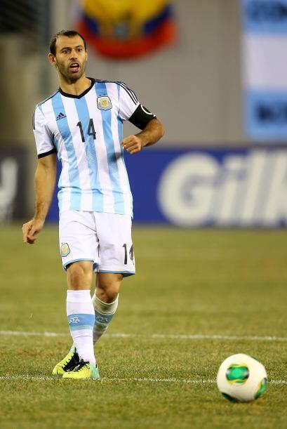 Javier Mascherano. Posición: Defensa. Fecha de nacimiento: 8 de junio de...