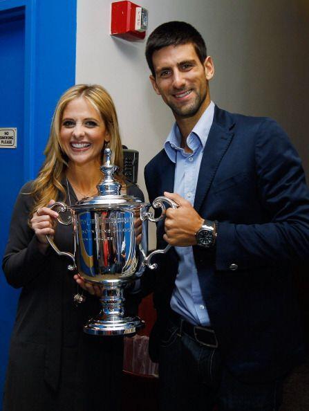 Novak Djokovic celebró su triunfo en Nueva York y Sarah Michelle Gellar...