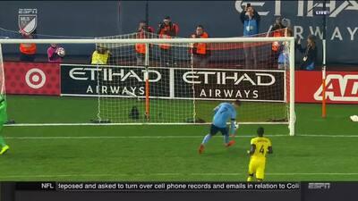 David 'El Guaje' Villa prende la fiesta en Yankee Stadium con primer gol para New York City